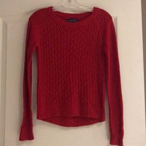 Aeropostale Red Sweater Size XS
